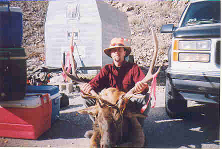 Bill Paris of Niwot, Colorado scored this bull, 2004 rifle season